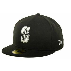 Seattle Mariners New Era MLB B Dub 59FIFTY Cap