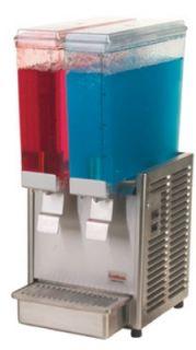 Grindmaster   Cecilware Twin Premix Cold Beverage Dispenser, (2) 2.4 Gallon, 120 V
