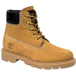 Timberland Kids 6 Inch Classic Boot Youth Wheat Nubuck Boots   10760