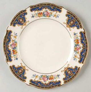 Thomas Hughes 5602 Bread & Butter Plate, Fine China Dinnerware   Blue Panels, Ta