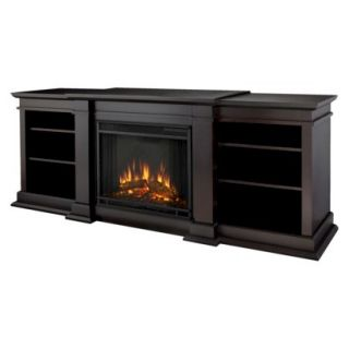 Decorative Fireplace: Real Flame Fresno Electric Fireplace   Dark Brown (Brown