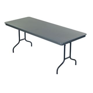 AmTab Manufacturing Corporation Dynalite ABS Plastic Rectangle Folding Table