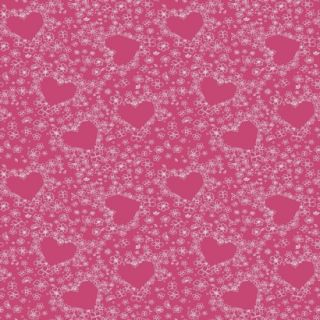 Hearts Wallpaper   Pink