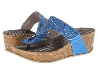 PATRIZIA Dionne Womens Sandals (Blue)