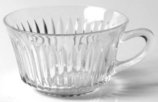 Anchor Hocking Queen Mary Clear Cup Only   Clear, Depression Glass