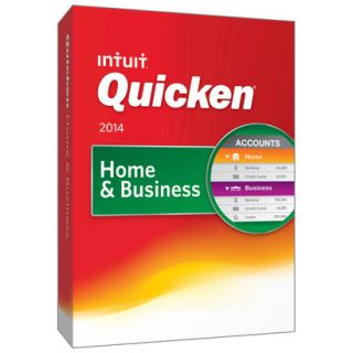 Quicken 2014 Home And Business Financial Software (PC Software)