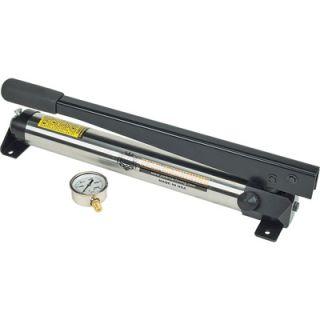 Pals Machining Hydraulic Hand Pump   10,000 PSI, 1/2in. Piston