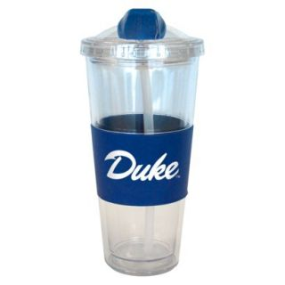 Boelter Brands NCAA 2 Pack Duke Blue Devils No Spill Double Walled Tumbler with