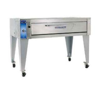 Bakers Pride 57 in Pizza Deck Oven, Single Deck, Infinite Controls, 208/3 V
