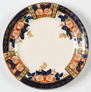 Thomas Hughes Windsor Derby Bread & Butter Plate, Fine China Dinnerware   Blue,
