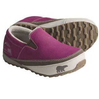 Sorel MacKenzie Slip Shoes   Insulated (For Youth)   TARTE/TUSK (6 )