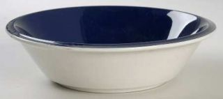 Mikasa Country Store Navy Blue Soup/Cereal Bowl, Fine China Dinnerware   Dark Bl