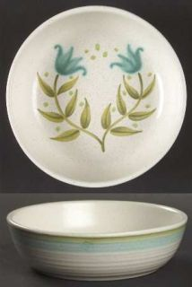 Franciscan Tulip Time Fruit/Dessert (Sauce) Bowl, Fine China Dinnerware   Blue/G