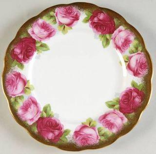 Royal Albert Mothers Day Dessert/Pie Plate, Fine China Dinnerware   Bone,Pink Ro