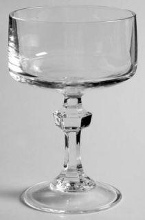 Cristal DArques Durand Vendome Uni Champagne/Tall Sherbet   Clear,Squarish Bowl