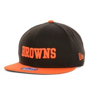 Cleveland Browns New Era NFL Kids Baycik 9FIFTY Snapback Cap 4b5a32245