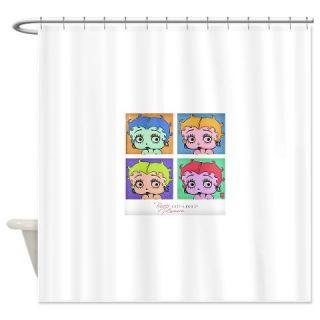 Betty Boop 4 Way Art Shower Curtain  Use code FREECART at Checkout
