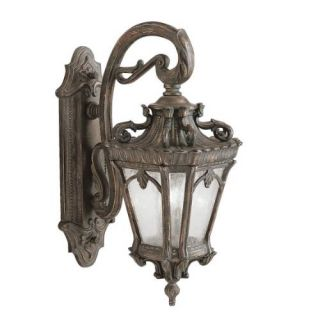 Kichler 9357LD Outdoor Light, European Wall Mount 2 Light Fixture Londonderry