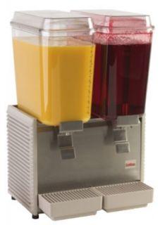 Grindmaster   Cecilware Crathco Classic Bubblers Premix Beverage Dispenser, 2 Bowls, 120V