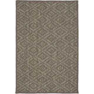 Diamonds Natural Sisal Wool Rug (2 X 3)