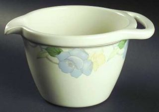 Mikasa Garden Poetry Batter Bowl, Fine China Dinnerware   Intaglio Line, Pastel