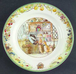 Villeroy & Boch Foxwood Tales Bread & Butter Plate, Fine China Dinnerware   Bout