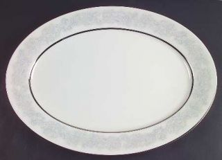 Oxford (Div of Lenox) Twilight Dell 17 Oval Serving Platter, Fine China Dinnerw