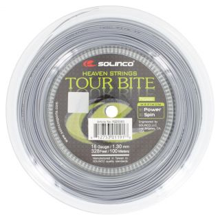 Solinco Tour Bite Tennis String Mini Reel Silver 17