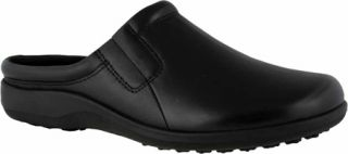 Womens Walking Cradles Adobe   Black Leather Casual Shoes