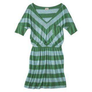 Mossimo Supply Co. Juniors V Neck Dress   Trinidad Green XL(15 17)