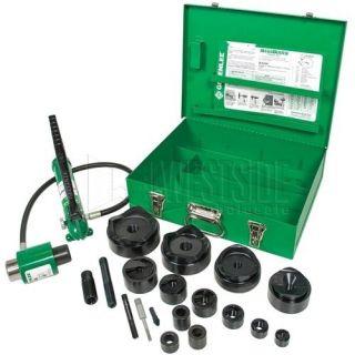 Greenlee 7310SB SlugBuster Ram and Hand Pump Hydraulic Driver Kit 1/2 4