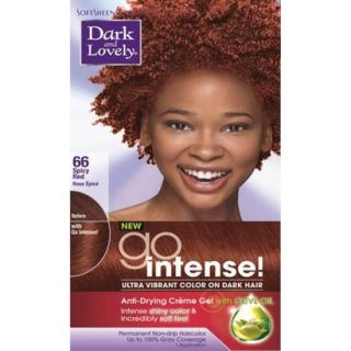 Dark and Lovely Ultra Vibrant Permanent Hair Color   66 Spicy Red