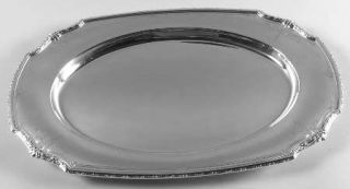 Wallace Princess Anne (Sterling,1926,Hollowware) Medium Sterling Meat Plate, No