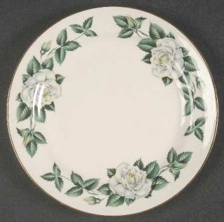 Homer Laughlin  Nassau Bread & Butter Plate, Fine China Dinnerware   Eggshell Na