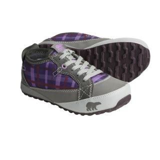 Sorel MacKenzie Sneakers   Fleece Lined (For Youth)   CHARCOAL/ROYAL PURPLE (6 )