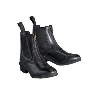 Mountain Horse Carbon Boa Zip Paddock Black 11