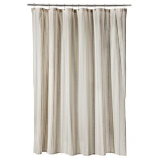 Threshold Stripe Shower Curtain