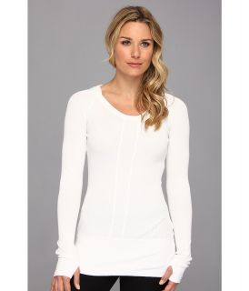 Mod o doc Cotton Modal Thermal Pullover Hoodie Womens Clothing (White)