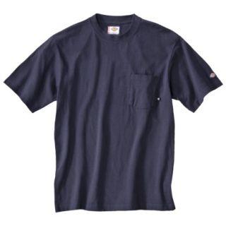 Dickies Mens Short Sleeve Pocket T Shirt with Wicking   Dark Navy XXL T