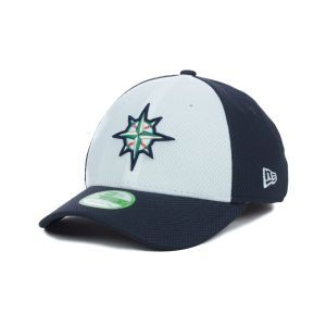 Seattle Mariners New Era MLB Kids Diamond Era White Front 39THIRTY Cap