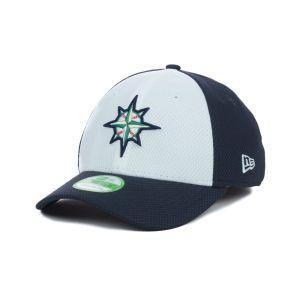 Seattle Mariners New Era MLB Kids Diamond Era White Front 39THIRTY Cap