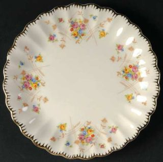Limoges American New Princess (Scalloped,Gold Trm) Bread & Butter Plate, Fine Ch