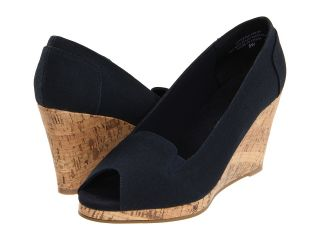 Annie Tweet Womens Wedge Shoes (Navy)