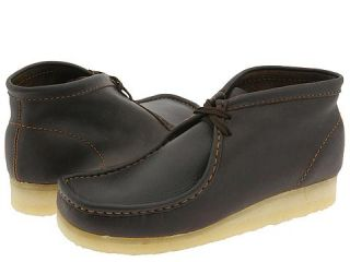 Clarks Wallabee Boot Mens Lace up casual Shoes (Brown)