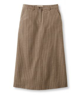 Weekend Riding Skirt, Houndstooth Misses