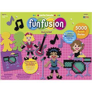 Perler Beads Fun Fusion Rock & Roll Value Activity Kit