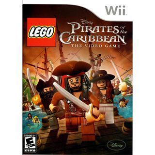 Nintendo Wii LEGO Pirates of the Caribbean, Multi