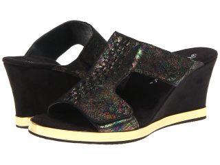 Helle Comfort Mara Womens Wedge Shoes (Black)