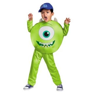 Toddler/Boys Monsters University Mike Classic Costume