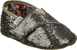 Infant/Toddler Girls Skechers Baby Bobs   Gunmetal Vegetarian Shoes